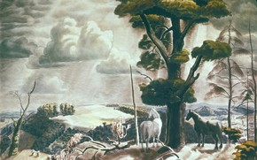 Picture 1931, August, legionarism, The Art of Charles Burchfield