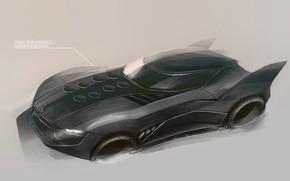 Picture Auto, Tuning, Car, Car, Auto, Batman, Batmobile, Batman, Tuning, Betmobil, Yasid Design, Yasid Oozeear