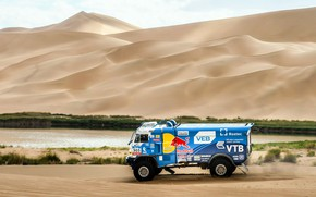 Picture Sand, Sport, Speed, Truck, Race, Master, Russia, Kamaz, Rally, KAMAZ-master, Rally, KAMAZ, The roads, Best, …
