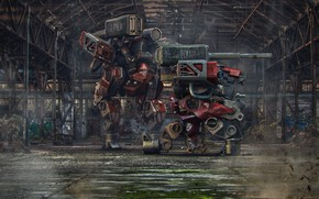 Picture fiction, transformer, art, :: Chinese Oppressor Drone ::, Lee SOUDER