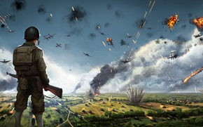 Picture Soldiers, War, Game, Steel Division: Normandy 44