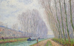 Picture landscape, picture, Francis Picabia, Francis Picabia, Channel. Winter Effect