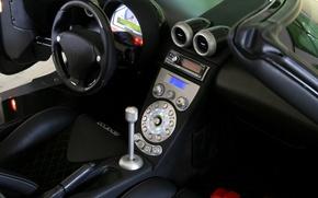 Picture Koenigsegg, the wheel, salon, CCX, dashboard
