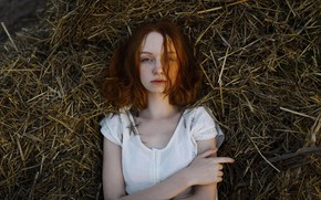 Picture freckles, redhead, ginger, Aleks Five