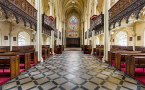 Picture Church, Cathedral, the altar, bench, the nave