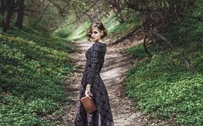 Picture trail, dress, book, Daria Batyr