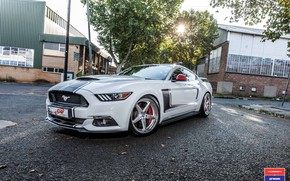Picture Mustang, Ford, Work, Vossen