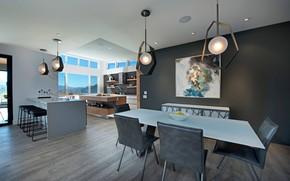 Picture Villa, interior, kitchen, dining room, Lakestone Residence