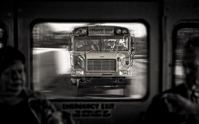 Picture bus, trip, School Bus