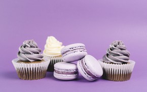 Picture sweets, cakes, cupcakes, macaroon