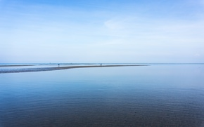 Picture sea, blue, malaysia, relaxing, waterfront, kuantan