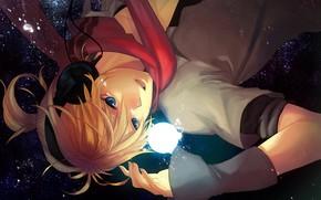 Picture night, guy, Vocaloid, Vocaloid, Kagamine Len