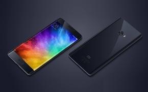 Wallpaper logo, Xiaomi MI Note, Xiaomi MI, Xiaomi, smartphone, tecnooy