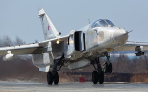 Picture fighter, the rise, Su-24, the Russian air force