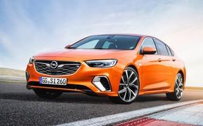 Wallpaper Insignia, Opel, sedan, 2018, GSi