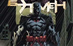 Picture Rain, Batman, Hero, Comic, Cloak, Superhero, Hero, Batman, Rain, DC Comics, Icon, Cape, Mask, Detective, …