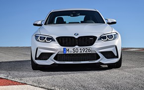 Picture front view, 2018, Competition, BMW M2