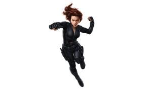 Wallpaper Scarlett Johansson, Costume, Actress, Hero, Scarlett Johansson, Superhero, Hero, Red, Marvel, Comics, Black Widow, Natasha ...