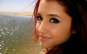 Picture face, smile, model, actress, Ariana Grande