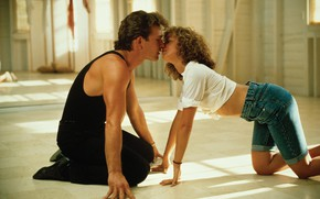 Picture Patrick Swayze, Kiss, dirty dancing