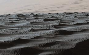 Picture dunes, Mars, sandy