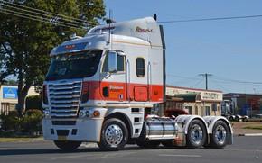 Picture street, Freightliner, tractor, Argosy, '2011