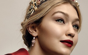 Picture model, portrait, Gigi Hadid