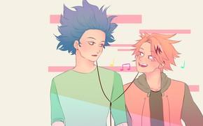 Picture background, anime, art, guys, Boku no Hero Academy, My heroic academia