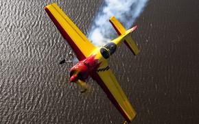 Wallpaper aerobatic, the plane, Su-26, Su-26, single