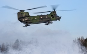 Picture helicopter, Chinook, CH-147