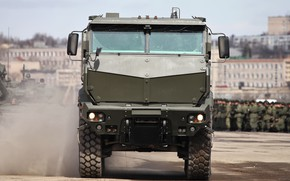 Picture Russia, soldier, military, weapon, power, army, truck, tank, armored, military vehicle