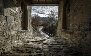Wallpaper nature, bridge, road