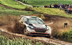 Picture Ford, Auto, Sport, Machine, Ford, Race, Skid, Dirt, Car, WRC, Rally, Rally, Fiesta, Fiesta, Ford …
