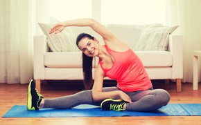 Wallpaper leggings, health, exercises, yoga, activewear, beauty, fitness, pilates, workout, crossfit