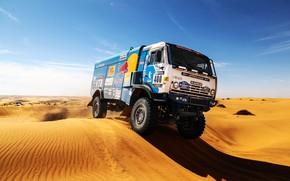 Picture Sand, Nature, Sport, Desert, Speed, Truck, Race, Master, Africa, Beauty, Russia, Beast, Kamaz, Rally, Rally, …