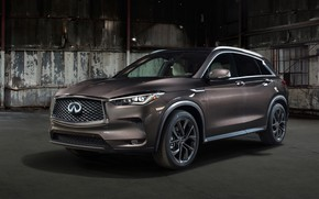 Wallpaper QX50, Infiniti, 2019
