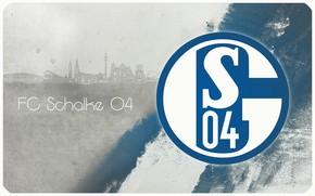 Picture wallpaper, sport, logo, football, FC Shalke 04