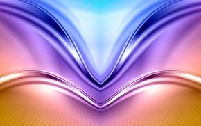 Picture line, curves, symmetry