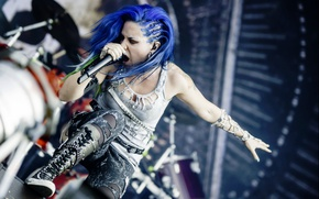 Picture singer, Arch Enemy, Alissa White-Gluz