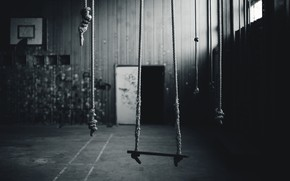 Picture background, swing, hall