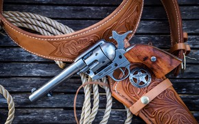 Wallpaper Colt 45, Revolver, weapons