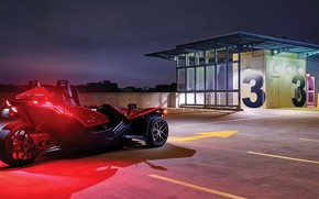 Picture beautiful, comfort, hi-tech, Polaris, Slingshot, technology, sporty, tricycle, 022
