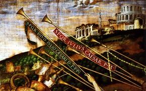 Picture Andrea Mantegna, Detail, Triomphes, LesPorteurs Vases, 1490-1506, Toile IV des