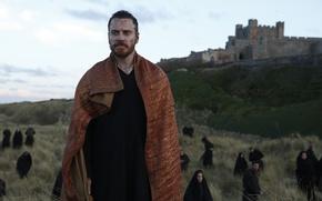 Picture cinema, man, movie, Scotland, castle, film, Michael Fassbender, king, Macbeth, William Shakespeare
