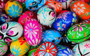 Picture eggs, texture, Easter, Pysanka, The Resurrection Of Christ