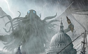 Picture Cthulhu, Cover, Joseph Diaz, Nightmare monster, Pax Cthuliana