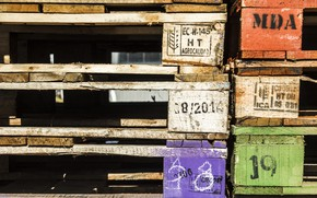 Picture background, color, pallets