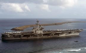 Picture sea, the carrier, USS, Carl Vinson, (CVN 70)