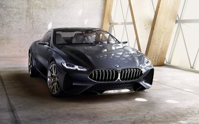 Wallpaper BMW, Concept, 8-series, 2017, 8 series, coupe, BMW, the concept car