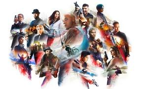 Wallpaper Tony Jaa, rifle, tatoo, XXX 3, cinema, film, Neymar Jr, pistol, weapon, gun, motorbike, girl, ...